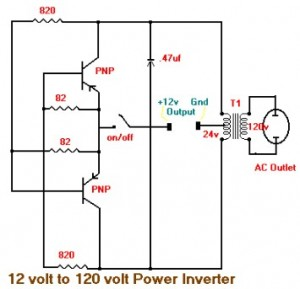 15w inverter circuit 12vdc to 120vac - inverter circuit ... 120vac schematic wiring