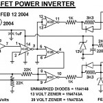 MOSFET power inverter 500W