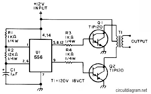 25W Small Inverter Circuit - Inverter Circuit and Products