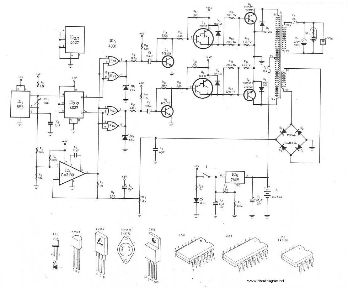 W Power Inverter Circuit Diagram Inverter Circuit And Products - Circuit diagram of an inverter