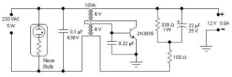 5W Inverter Circuit