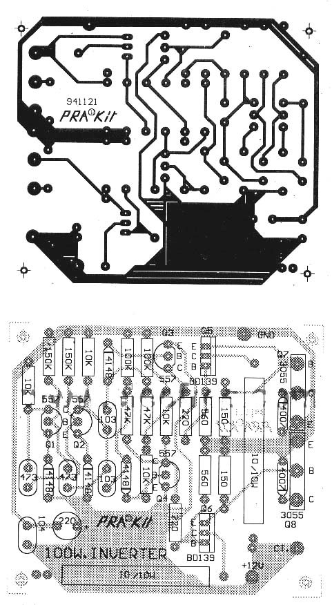 Inverter Pcb Layout Design Inverter Circuit And Products