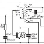 8W Fluorescent Lamp Inverter