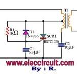 SCR mini power inverter circuit diagram